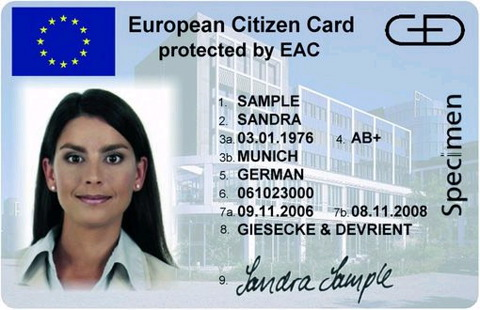 of the smart identity card