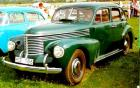 1939 Opel Kapitan, German US cooperation