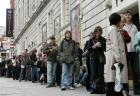 Unemployed or queuing  