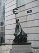 the statue of euro!